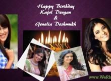 Happy Birthday - Kajol Devgan & Genelia Deshmukh