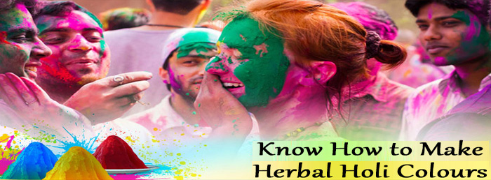 Know How to Make Herbal Holi Colours