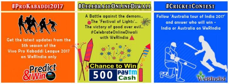 Kabaddi - Diwali - Cricket - Contests Werindia