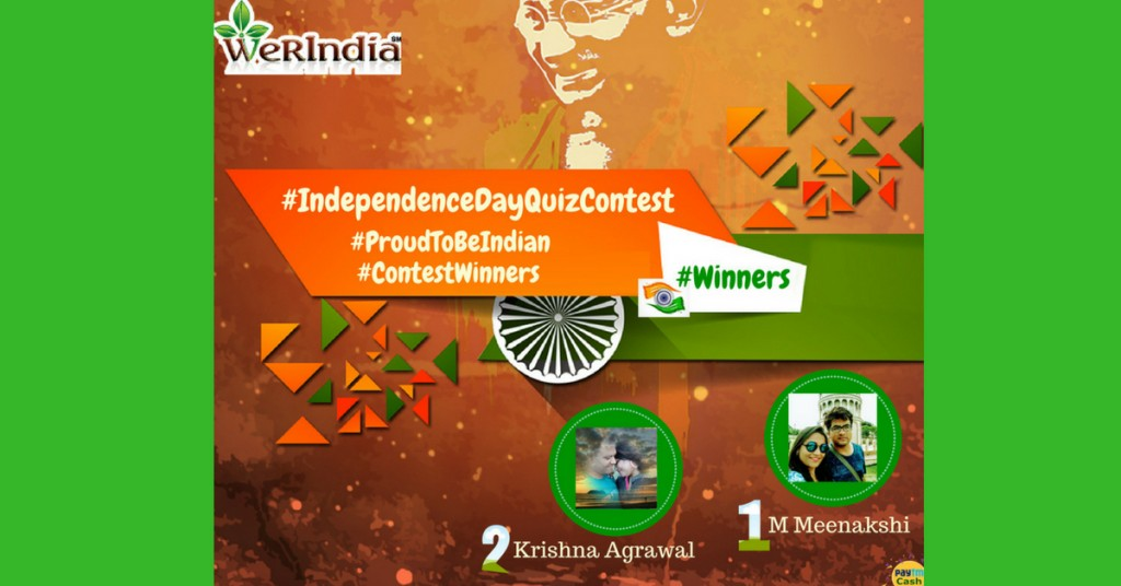 Winner Announcement Of Independence Day Contest 2018
