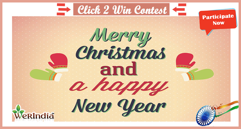Christams & New Year Contest | WeRIndia