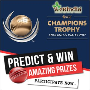 ICC Champions Trophy 2017 Contest