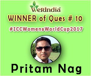 ICC Women's World Cup 2017- Winners of Ques #10