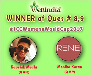ICC Women's World Cup 2017- Winners of Ques #8 & #9