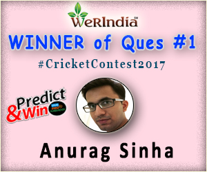 Cricket Contest 2017 - Winners of Ques #1