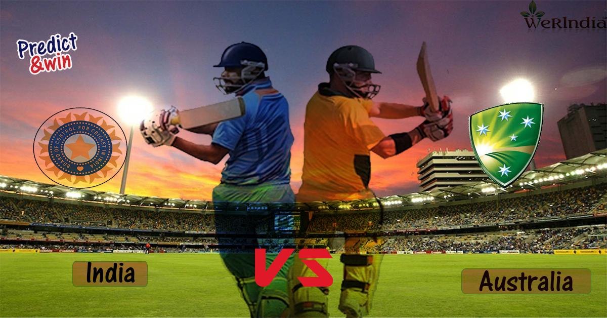 Cricket Contest - Predict & Win -  WeRIndia