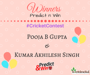 Cricket Contest 2017 IndvsNZ T20 - Winners of Ques #2