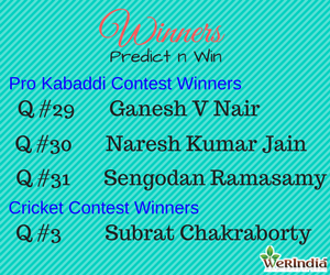 Cricket Contest 2017 - Winners of Ques #2
