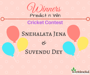 Cricket Contest 2017 IndvsNZ T20 - Winners of Ques #1