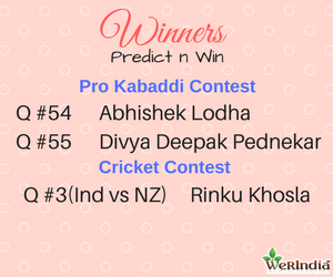 Cricket Contest 2017 - Winners of Ques #3