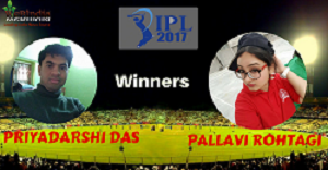 IPL2017 - Winners of Ques #1